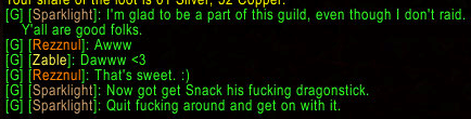 My gnome warrior tells Waypoint how it is.