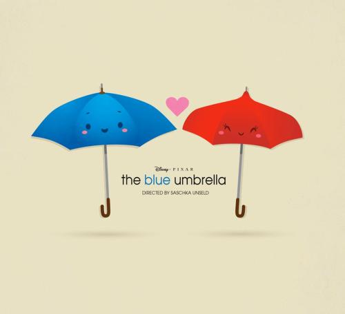 fancysomedisneymagic:  The Blue Umbrella, art by Jerrod Maruyama