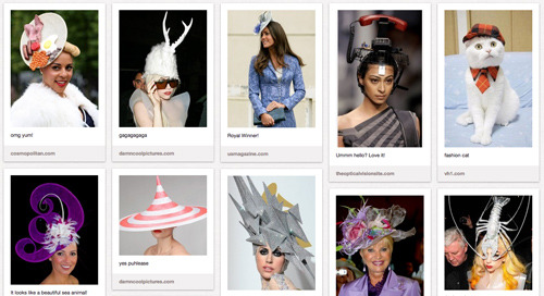 krollshow:  New PubLIZity Pinterest Board: Have to Have Hats
