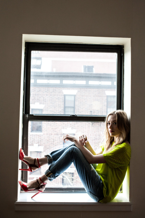 Loving this chic, casual look by eat.sleep.wear! I love red and neon yellow together, and her heels balance out slouchy boyfriend jeans perfectly! <3 Amy, ModStylist Need styling suggestions, trend tips, or dress details? Ask a ModStylist and your question might be featured on our feed!