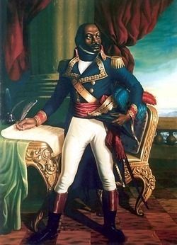 "(Badass of the Week) Toussaint L'Ouverture - leader of the Haitian Revolution. Died in a French Prison, Fort-de-Joux, April 7, 1803. Louverture told his captors. ""In overthrowing me, you have cut down in Saint-Domingue only the trunk of the tree of liberty."" ""It will spring up again by the roots, for they are numerous and deep.""  Visit: The Toussaint Louverture Historical Society"
