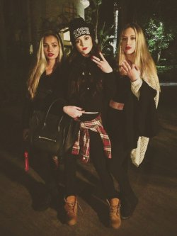 "therealleaah:  jenner-news:  Kylie: ""We outtie""  Xo"