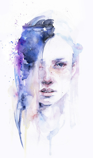 "thelookingglassgallery:  ""The Water Workshop I"" by Agnes Cecile"