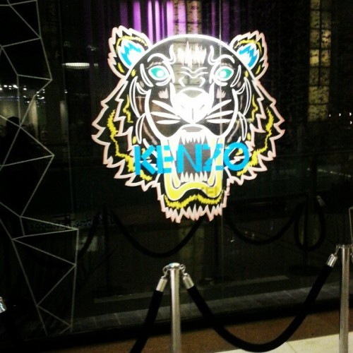 the kenzo tiger event was amazing!♥♥♥ @kenzoparis_hq #kenzo #tigerfever #tiger #dubaifashion #dubai #fashion #kenzotiger