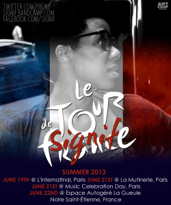 "Going on tour this June! Booked for 5 gigs in France and will see other parts of Europe during my trip. I'm too stoked and blessed for such as great opportunity! ""We on world tour with Darren my man going each and every place with the mic in our hand………….Do that, do that, do do that that that"" :)"