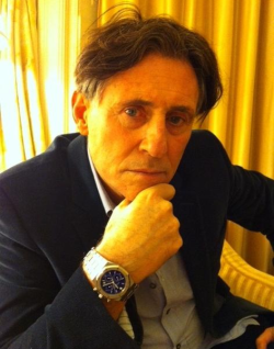 "Gabriel Byrne wearing the watch from ""End of Days"". Auction here."
