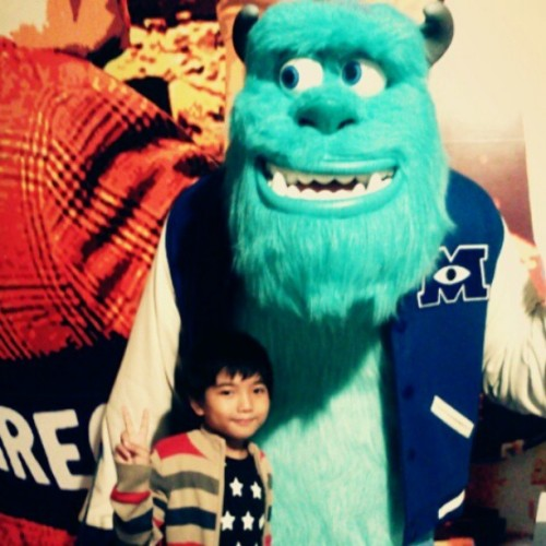 Buddies! #wacky #monsterinc #monsteruniversity #monster #igdaily #ignation #igersmanila #instamood #kids #dailygrind