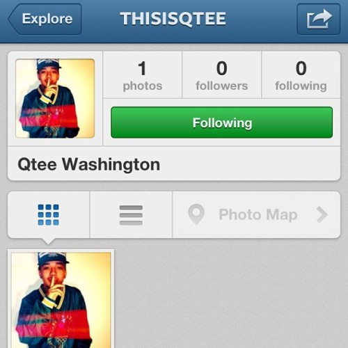 Go Follow my new account please @thisisqtee