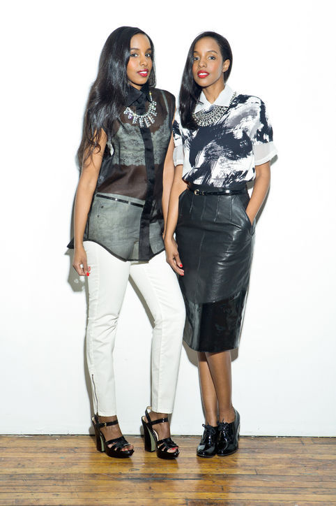 Meet Idyl and Ayaan Mohallim, twin owners and designers of the fashion line Mataano.