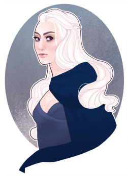 Queen in the East by *ennemme Our Khaleesi. Personally not my queen. My queen is Sansa.