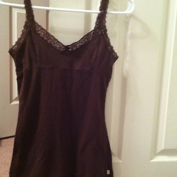 I just added this to my closet on Poshmark: Brown Hollister Cami.. (http://bit.ly/15uymNf) #poshmark #fashion #shopping #shopmycloset