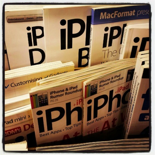 Do magazine publishers not understand? #irony #iphone #ipad