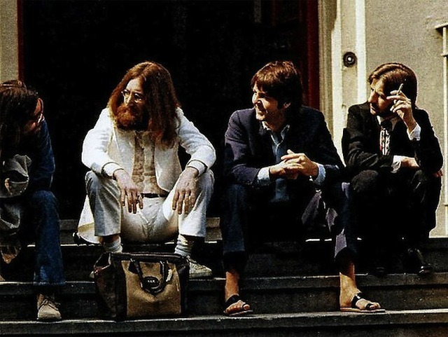 theplanetofsound:  Rare Shots Of The Beatles Abbey Road Cover Photo Session