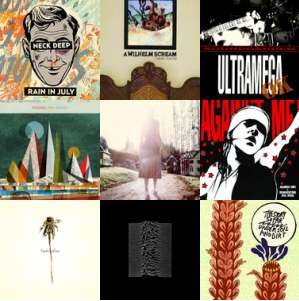 Lastfm artists of the week