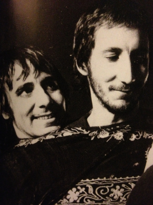 georgesleggies:  Pete and Keith, 1973 From Pete's book.