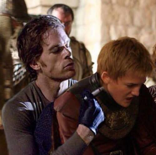 jmodio:  Dexter's next victim – Joffrey