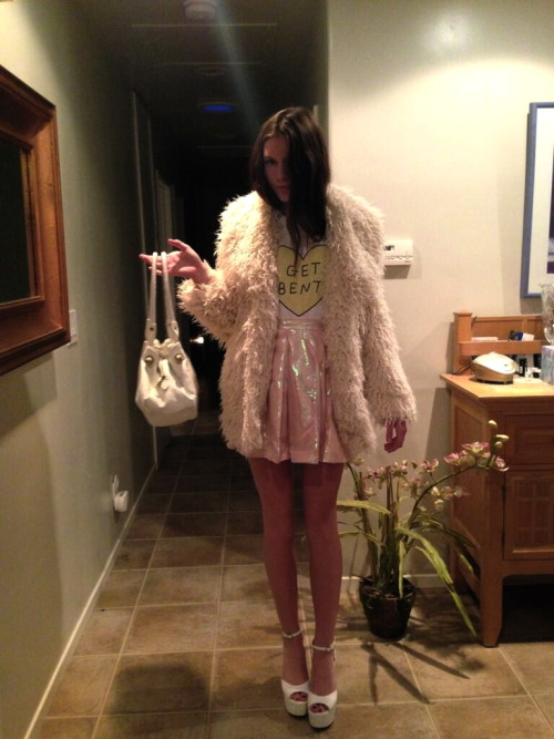 taylorkinneyspussy:  my outfit for marina and the diamonds concert »  perfect xo