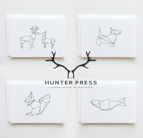therawhouse:  thehunterpress:  New Range: Scottish Origami Stationery. Available Soon.  TumbleOn)