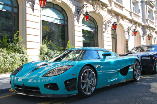 Watercolour Starring: Koenigsegg CCXR (by Paul SKG)