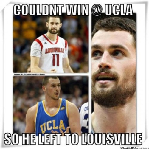 Kevin Love in Louisville ?