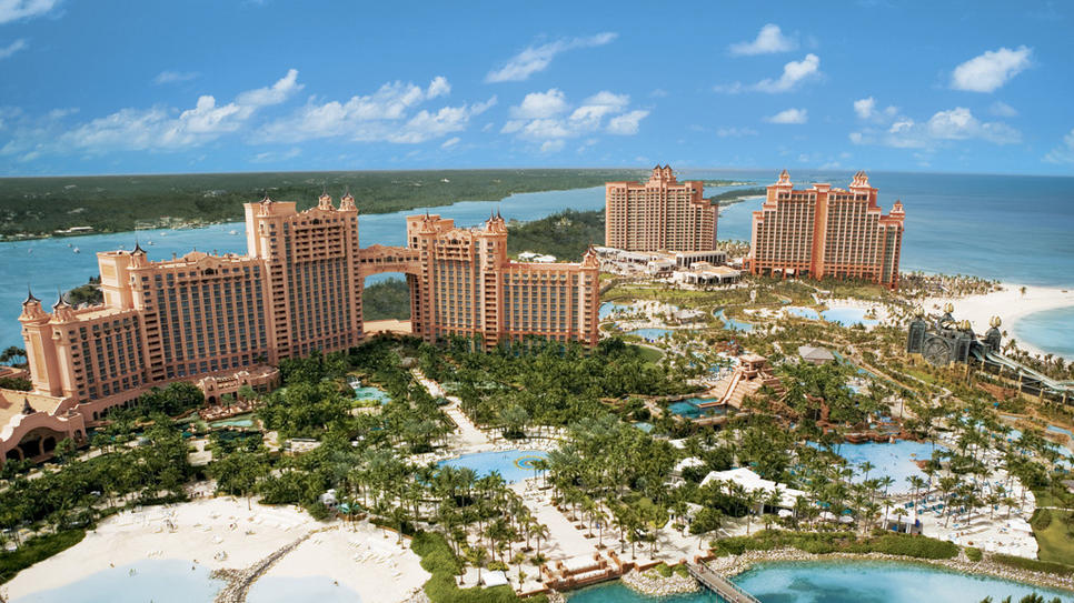 Atlantis Resort in Bahamas  (via Atlantis Resort : Daily Escape : Travel Channel)