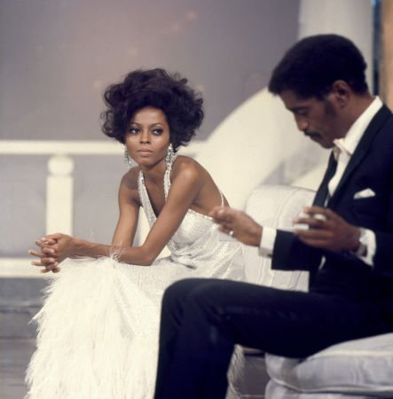 jazzrelatedstuff:  Diana Ross and Sammy Davis Jr.