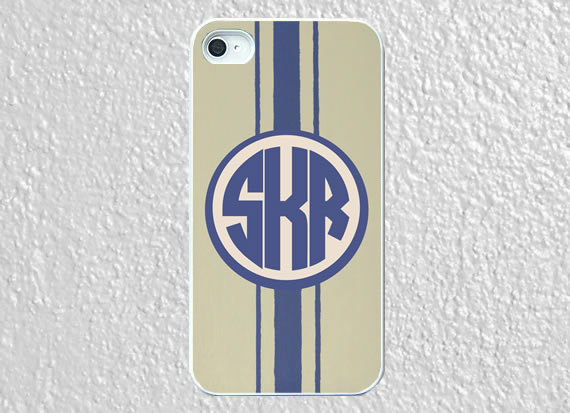Monogram iphone 5 case plastic cool blue by worthymonogram on We Heart It - http://weheartit.com/entry/52958442/via/WorthyCases