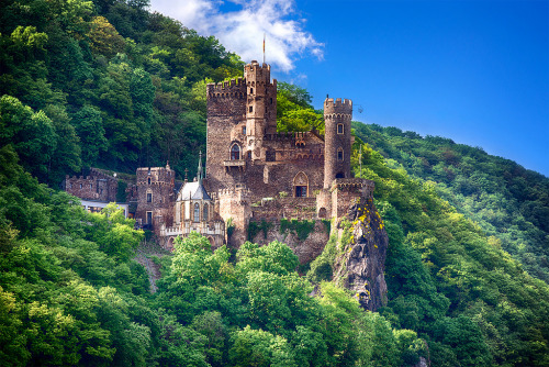 Rheinstein Castle, Rheinland, Germany (by Ghetu Daniel)