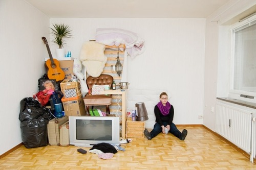 "treehugger:  ""The things you own end up owning you. It's only after you lose everything that you're free to do anything."" ― Chuck Palahniuk, Fight Club via The Most Inspiring Art of 2012 : Page 7 credit: Sannah Kvist"