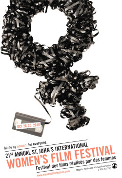 St.John's International Women's Film Festival Poster Proposal Art Direction / Photography Collaboration with Jen Spinner