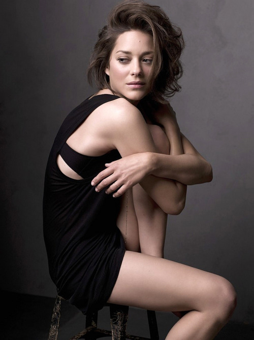 suicideblonde:  Marion Cotillard by Mark Seliger