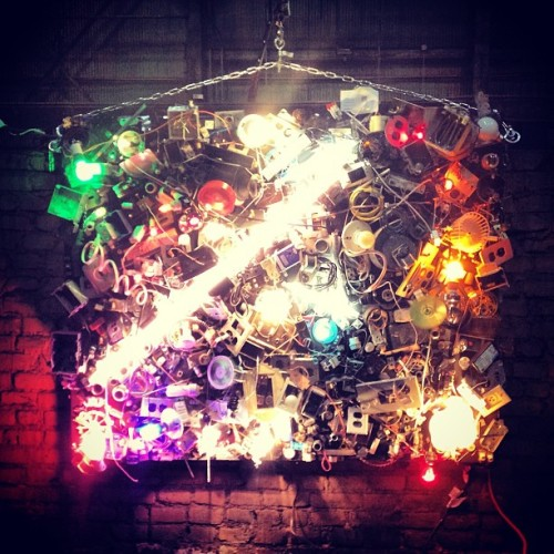#lights #light #pittsburgh #artallnight #sculpture #art  (at Art All Night)