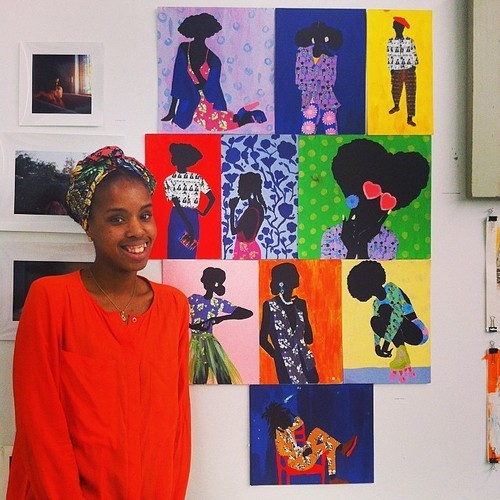 "vivaillajams:http://www.gofundme.com/JamillaOkuboParsoTuitionHello, My name is Jamilla Okubo. I am an Kenyan-American artist from Washington, D.C. Currently residing in New York City attending Parsons the New School for Design. I am currently a rising senior at Parsons studying Integrated Fashion Design (undergraduate), with a background in Fine Arts, and a focus on textiles and fashion design.  I have been attending Parsons for three years now and I am getting ready to graduate this year as well as complete my senior thesis. I am currently $72,000 in debt to Parsons the New School for Design. For the past three years my mother has assisted me by paying the remainder of my tuition with the Parent Plus Loan. My mother has borrowed $43,000 of the Direct Parent Plus loan. I still owe $12,000 for my last (senior) year at Parsons and mother and I can no longer take out Direct Plus Loans.  I hope to be that minority student of color at Parsons, who represents the school, and inspires my younger siblings, and other minority/low-income students globally, to have the ambition and drive that I have, and not let financial issues get in the way of it.As a minority student of color, I wholeheartedly appreciate and have taken full advantage of the amazing opportunities that I have received while being at Parsons, learning from amazing professors and peers. I need $10, 787 to pay for the rest of my tuition for my last year at Parsons. USAGE OF FUNDS:-Tuition: $10,787-School Supplies (Fabric, muslin, pattern paper, designing tools, paint, canvases, lab fees, books, fieldtrip fees) My Senior Year ScheduleFall 2014 (19 credits)EntrepreneurshipDesign, Self & SocietyFuturism & FashionSilkscreeningFashion, Illustration & PerformanceArt After Apartheid Winter: Strategies of Selling (course at FIT, 3 credits)  Spring 2015 (18 credits)Seminar StudioPortfolio Strategies4000 Level lecture courseTailoring: WomenswearCouture Design: TechniquesFiction: Introduction ABOUT ME & MY PURPOSE AS AN ARTIST:  As a multidisciplinary artist I am able to combine my skills and knowledge to create and express myself. My artwork mainly focuses on people of the Diaspora (people of color), whom I consider my community. I use my artistic disciplines as tools to challenge myself in ways to give back to my community, educate, and empower them as well as the rest of the world. It is my duty to remind people of color that we have such a rich culture, and that we should love ourselves and one another. I create artwork for my community, because I believe that my purpose as an artist of color is to empower and educate my community. My artistic discipline connects me to my community by allowing me to create artwork that my community is able to enjoy, embrace, and share with others. I not only create my artwork for myself but what I express through the medium that I use, is a story that many in my community can relate to. When it comes to creating, I strongly believe in the fact that,  ""Black art controls the ""Negro's"" reality, negates negative influences, and creates positive images,"" A quote by Sonia Sanchez. As an artist of color coming from a low-income, single-mother household background, I am able to speak for many in my community from both my experiences growing up as well as express the beauty and hardships of my community's culture and history. Being able to paint allows me to create for myself but also allows my work to connect to so many from my community. That is the beauty of being an artist, being able to express shared feelings and experiences with your community, where they can also can all take something from what you create.There is so much to learn, and from that form of inspiration and influence, I create. RECENT INTERVIEWS: OkayAfrica: http://www.okayafrica.com/news/jamilla-okubo-textiles-paintings/#slide1 AADAT: www.aadatart.com/interview-jamilla-okubo-on-her-cultural-background-creative-inspirations-and-favourite-things/ Portfolio Website:  www.jamillaokubo.comBlog:  www.vivaillajams.tumblr.comShop my art prints here: http://aadatart.com/product-category/art-prints/jamilla-okubo/SPREAD THE WORD TUMBLR FAMILY! I LOVE YALL!*SIGNAL BOOST THIS PLEASEEEEE*"