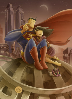 Happy 75th Supes and Lois!