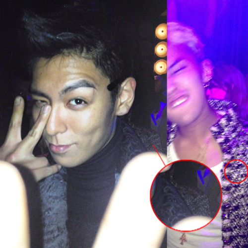 choi-top-hyung:  atenais:  Of course everybody knows who was behind TOP.  turtle and shell!!