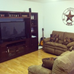 New couches!!!:D #thishouseisahome (at Home Sweet Home)