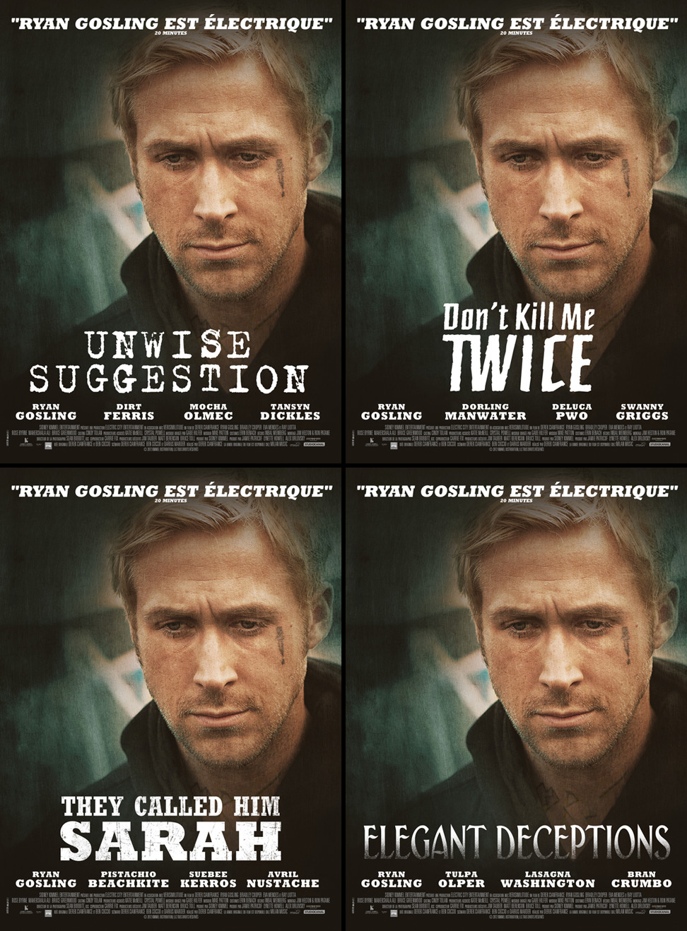Ryan Gosling New Movies 2