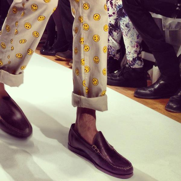 Happy pants at Mark McNairy.