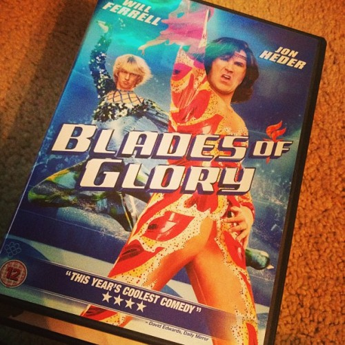 Best movie ever made, ever. #bladesofglory #movies