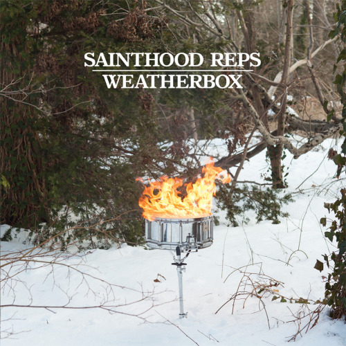 "sainthoodreps:  Our new split 7"" with Weatherbox is currently up for pre-order over at Topshelf Records. You can hear our song, ""Deadlines"" over at absolutepunk.net. Listen, order, share.   Not only did I play on this, but I also shot the cover. Check it out!"