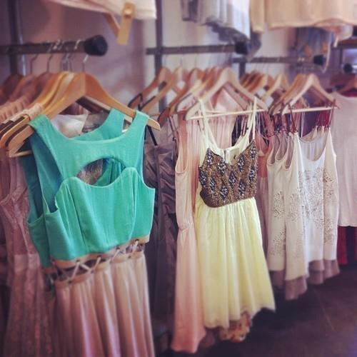 that dress in the middle needs to be mine