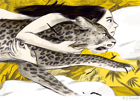 supersonicelectronic:  Jillian Tamaki. Illustrations by Jillian Tamaki: Read More