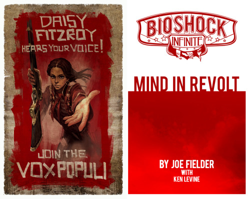 BioShock Infinite getting an e-book prequel  BioShock Infinite: Mind in Revolt will be available for Kindle and free with Amazon.com pre-orders of BioShock Infinite. Pre-order here.