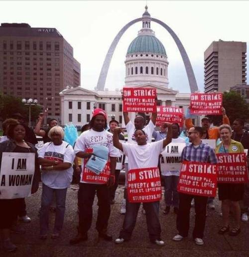 St. Louis 735 strike.