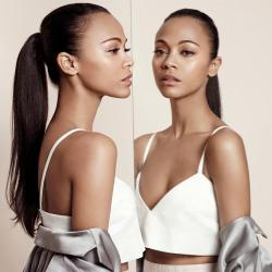 Zoe Saldana for InStyle UK