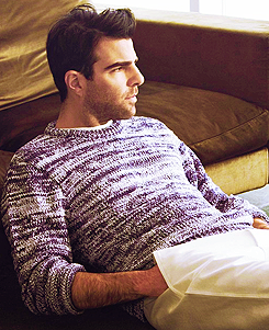 Zachary Quinto  - 'August Man' magazine cover May 2013