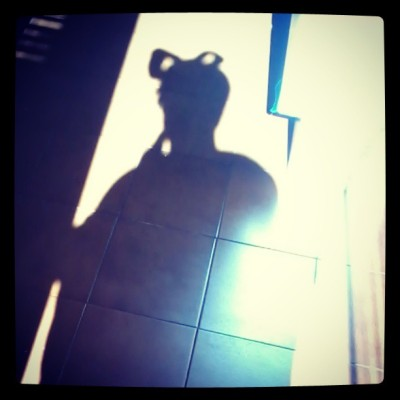 #shadow #selfie #bow its still so warm around here… Winter must just give up and come back next year. (at Linden)