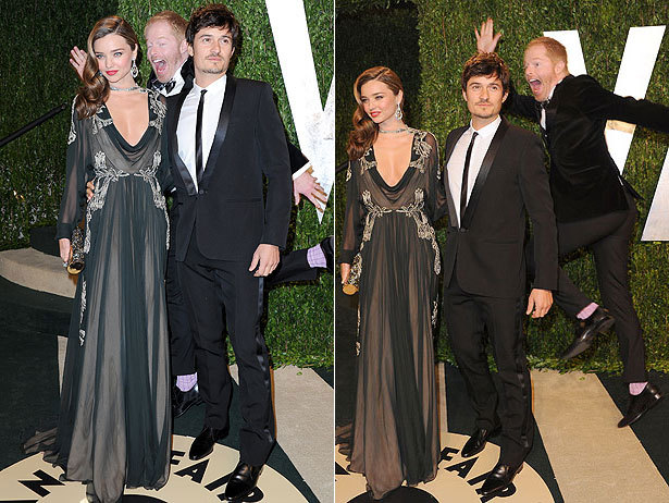 And the award for best photobomb goes to…. Jesse Tyler Ferguson!
