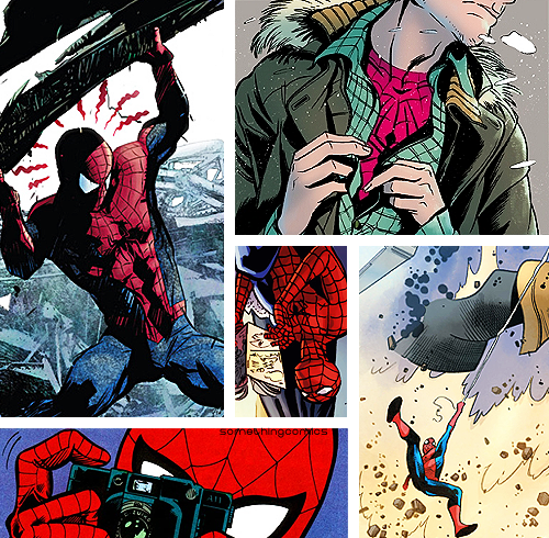 30 Days of Marvel | Favorite Male Character↳ Peter Parker (Spider-Man)