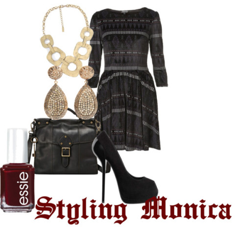 Untitled #637 by stylingmonica featuring essie nail polish